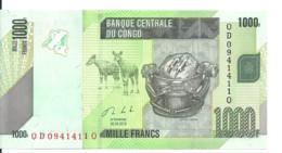 CONGO 1000 FRANCS 2013 UNC P 101 B - Unclassified