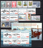 Groenland: 1996 - Jaargang Compleet Postfris / Complete MNH - Komplette Jahrgänge