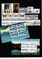 Groenland: 1997 - Jaargang Compleet Postfris / Complete MNH - Komplette Jahrgänge