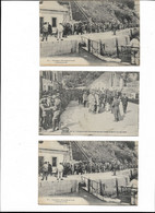 LOT DE 3 ARRIVEE  PRISONNIERS ALLEMANDS - Belle Ile En Mer