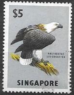 Singapore 1962 Eagle Bird Mlh * High Value From Set (50 Euros) - Singapore (1959-...)