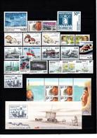 Groenland: 2005 - Jaargang Compleet Postfris Zonder Zelfkl. Zegels / Complete MNH Without Self-adhesive Stamps - Komplette Jahrgänge