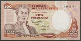 Kolumbien 100 Pesos 1.1.1991, KM 426 E Kassenfrisch (K538) - Colombia