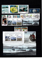 Groenland: 2008 - Jaargang Compleet Postfris Zonder Zelfkl. Zegels / Complete MNH Without Self-adhesive Stamps - Komplette Jahrgänge