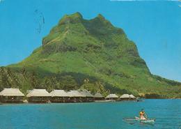 Bora-Bora - Polynésie Française - Club Méditerannée Noa Noa - Size 4 X 6 - Written 1980 - Stamp Postmark - 2 Scans - French Polynesia