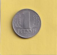 1 Pfennig - 1964 A - D.D.R . - R.D.A. - Allemagne De L'Est - - 1 Pfennig