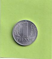 1 Pfennig - 1968 A - D.D.R . - R.D.A. - Allemagne De L'Est - - 1 Pfennig