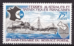 TAAF - 54 - 75F Service Postal - Neuf N** - Très Beau - Neufs