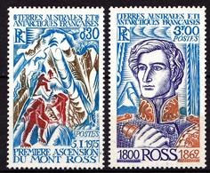 TAAF - 61 / 62 - Ascension Du Mont Ross - Complet 2 Valeurs - Neufs N** - Très Beaux - Neufs