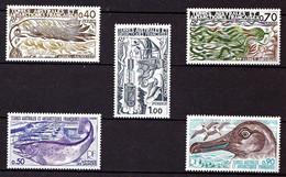 TAAF - 68 à 72 - 5 Valeurs - Neufs N** - Très Beaux (minuscule Inclusion Verso Du N° 71). - Unused Stamps