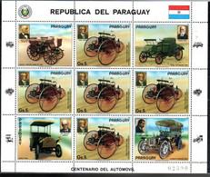 Paraguay 3971 Kleinbogen Mnh, Dreirad - Paraguay