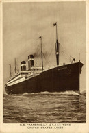 SS  AMERICA UNITED STATES LINES - Steamers