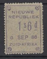 New Republic, SG 33, MHR, Dated 6 SEP 86 - New Republic (1886-1887)