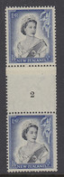 New Zealand, CP NC6d, MLH Counter Coil Number Pair (pencil ID On Gum) - Ungebraucht