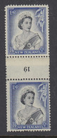 New Zealand, CP NC7c, MLH Counter Coil Number Pair (pencil ID On Gum) - Ungebraucht