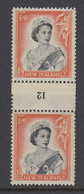 New Zealand, CP NC7d, MLH Counter Coil Number Pair (pencil ID On Gum) - Ungebraucht