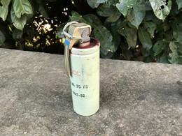 D'origines Française/Grenade Fumigène Des Années 80/Inerte - Sammlerwaffen