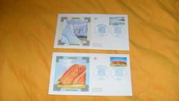 LOT 2 ENVELOPPES FDC DE 1996../ CACHETS UNESCO PARIS.../ ARGENTINE, AUSTRALIE..+ TIMBRE - 1990-1999