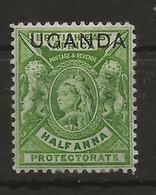 Uganda, 1902, SG  92, Mint Hinged - Uganda (...-1962)