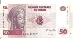 CONGO 50 FRANCS 2000 UNC P 91 - Unclassified