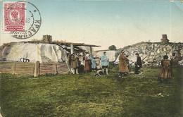 004692 - RUSSIA - TYPES SIBERIENS - FOURNISSEUR RUSSE CHEZ LE YAKOUTES - ED. KORPITSKI - 1912 - Russia