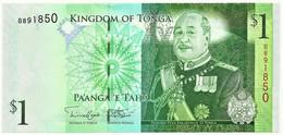 Tonga - 1 Pa'anga - ND ( 2008 ) - Pick 37 - Unc. - Prefix B - King Tupou V - Tonga