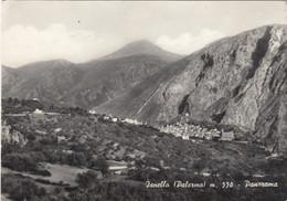 ISNELLO-PALERMO-PANORAMA-CARTOLINA VERA FOTOGRAFIA-VIAGGIATA  IL  17-5-1959 - Palermo