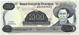 Nicaragua - 500 000 On 1 000 Córdobas - D. 1987 ( 1987 ) - Unc. - Pick 150 -  Serie G - Nicaragua
