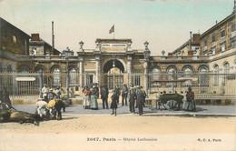 "CPA FRANCE 75010 ""Paris, Hopital Lariboisière"" - Distrito: 10"