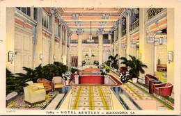 Louisiana Alexandria Hotel Bentley Lobby 1943 - Other