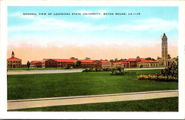 Louisiana Baton Rouge General View Of Louisiana State University - Baton Rouge