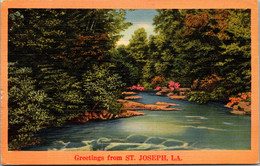 Louisiana Greetings From St Joseph - Other