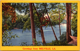 Louisiana Greetings From Melville 1957 - Other