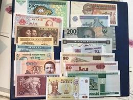 1 Lot De 17 Billets Neufs - Unclassified