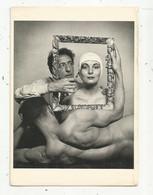Cp , Célébrité,JEAN COCTEAU ,the Act Of Creation ,1949, Photo Philippe Halsman ,écrite - Artiesten