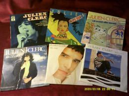 Collection De 6   Vinyles Differents De Julien Clerc - Collezioni