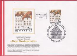 FDC 2003 - Mi 2415 (2) , Freimarke : Ferienland Österreich -  Steyr / Oberösterreich , SST 4400 Steyr - 2001-10 Storia Postale