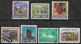 1974 Costa Rica Instituto Electrico-clubes 4 S 7v. - Costa Rica