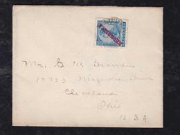 Portugal AZORES Acores 1911 Cover PONTA DELGADA To CLEVELAND USA - Azores