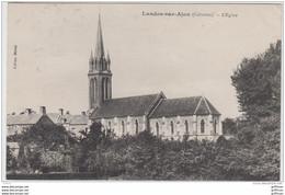 LANDES SUR AJON L'EGLISE TBE 1923 - Other Municipalities