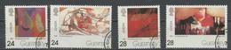 Europa CEPT 1993 Guernesey - Guernsey Y&T N°616 à 619 - Michel N°608 à 611 (o) - 1993