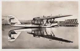 CPA - Hydravion Blériot 5190 Santos Dumont N° 01 - Compagnie Air France - Centre D'Aviation Maritime De Berre - 1919-1938
