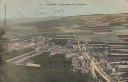 Corbion Sur Ourthe, Panorama De Poupehan, Voir Deux Coins à Gauche, 2 Scans - Bouillon