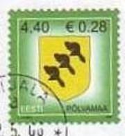 Estonia Estonie Eesti 2006 POLVAMAA  # Mi. 543 Used Stamp  (o) ALB - 62 - 18- 3 - Estonia