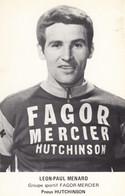 Carte - Léon Paul Menard - Groupe Fagor Mercier - Radsport
