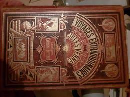 Jules Verne Editions Hetzel  Aventures Du Capitaine Hatteras Au Pole Nord - 1801-1900