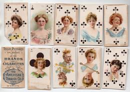 Lot De 38 Petites Cartes (à Jouer) Illustrées  BRANDS CIGARETTES  (4 Scans)  (PPP27963) - Pubblicitari