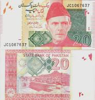 Pakistan 2016 - 20 Rupees - Pick 55j UNC - Pakistan