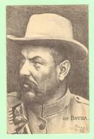 H1106 - Illustration Signée ORENS, 1902,  Du Général BOTHA - Homme D'état Sud Africain - Orens