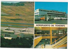 Espagne / Islas Canarias / Tenerife / AEROPUERTO / Avions, Voitures - Tenerife